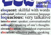 vocabulary / by Patty Peschel