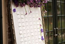 """Wedding """"Escort Card"""" Ideas / name cards for seating, seating charts for weddings"""