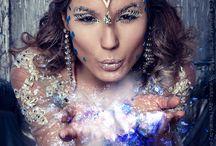 our ART WORKS / This pins are works of photographer Lyubov Belyavtseva and make-up artist Dariya Teplyakova