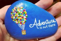 Crafts - Rock Painting / Great ideas for sweet treasures.  Be inspired.