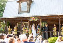 Front porch wedding