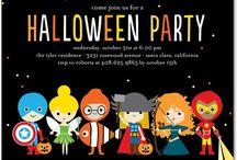 HALLOWEEN / Happy Halloween Kids Costume Party