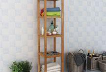 Home Bathroom Storage Unit