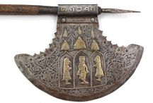 Indian axes, maces, and polearms (Only historically accurate) / Axes, maces, spears, warhammers, picks, ankus' and other weapons from India.