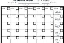 Reading Logs- Third Grade