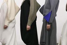 Kimono and Leggings / palette de couleurs et formes