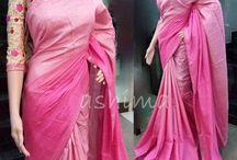 shaded saree