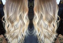 Hair color-blonde