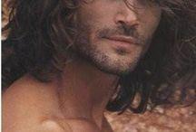 long hair sexy men