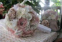 Alkotásaim - Örökcsokraim - My handmade wedding /bride/  bouquets