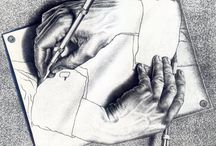 Drawing hands / Drawing hands inspiration, photos and references!