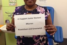 Lewisham and Greenwich Nurses / Nurses at #Lewishamandgreenwich who support #juniordoctors
