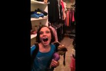 Funny Videos / Young girl didn't know she was being recorded and sounds just like a Realtor going through a home.