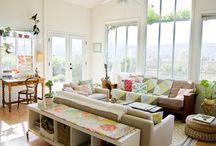 Living Room / by Heidi @ My Beautiful Mess