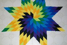 Star Quilts - Inspiration for Summer 2014 / Beautiful star quilts to inspire a summer 2014 quilt of my own