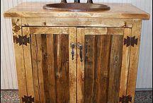 Rustiikit kylpyhuoneet