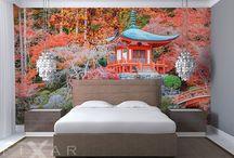 Fototapete fürs Schlafzimmer