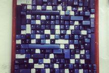 Reciclaje de teclados