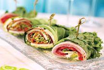 Sandwich and wraps