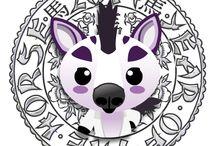 Cute Chinese Zodiac / Cuteki Chinese Zodiac Animals