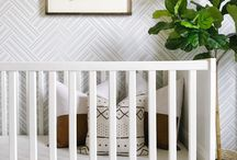 Modern Nursery Decor / Modern nursery decor, modern nursery ideas, modern nursery ideas boy, modern nursery ideas girl, mod nursery