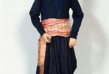 geleneksel tr / traditional turkish culture, clothing, architecture, styled inspiration board