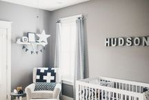 Baby Boy Nursery Ideas and Themes | Bedding, Furniture, Wallpaper, Art and More / This board showcases nursery ideas and themes designed around a baby boy. This includes bedding, furniture, wallpaper, art, and so much more.