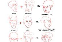 лица эмоции