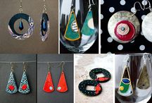 earrings - handmade