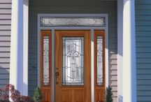 INTERIOR / EXTERIOR DOORS / We maintain a large inventory of interior door designs that includes a full line of interior molded and flush designs. We can also offer you different wood species for that special opening.