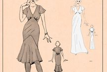 Vintage Sewing Patterns / Something old is new again