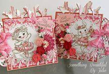 Aurora Wings Cards by Julie Gleeson