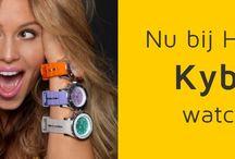 #kyboe / Vanaf september 2014 hebben wij ook de prachtige horloges van #kyboe in onze winkels.