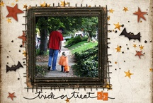 Halloween Inspiration / Create a spooky scrapbook layout to remember all the trick or treating fun or get ideas for some spooktacular projects! / by Stuff4Crafts