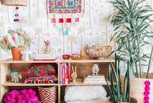 Home: Colorful Boho
