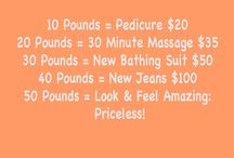 Weight Loss Rewards / by Lena Hall
