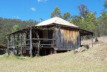 Old Slab Huts