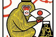 małpki ♡