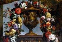 цветочные гирлянды, веночки