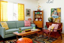 Living Room / Stylish and happy living room spaces I fawn over...