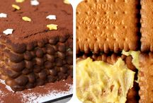 Gâteau enfance crème au beurre / Pâtisserie