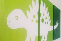dinosauri na platne