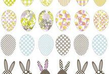 papiery Wielkanoc