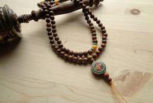 yoga jewelry κόσμημα mala / μάλα 108 χάντρες - mala 108 beads - yoga