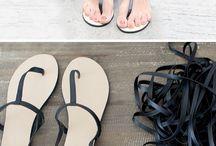 moda en sandalia