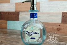 Upcycled Soap Dispensers