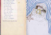 Sketchbook/moleskine Evy de Jong / My sketchbooks during the years 2013 - 2015