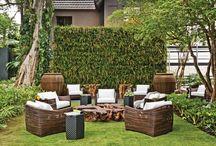 Decoração Varanda/Jardim - Casa & Decor / Ideias de decoração para a área externa