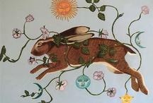 Magickal Hares / Moon hares & magic. / by Karen Bluebell