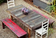 Pallets & Crafty Wood Ideas / by Erin Plahn